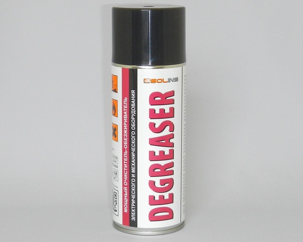 SOLINS DEGREASER, 400 мл